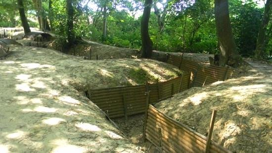 Frontline Tours: the trenches