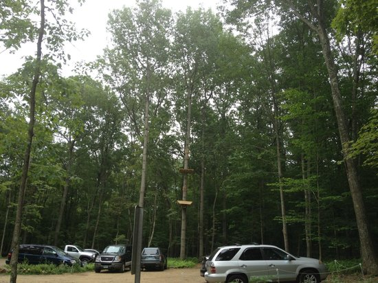 The Adventure Park at Storrs: One of the courses