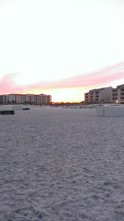 Hilton Garden Inn Orange Beach : playa
