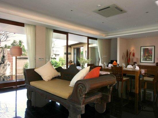 Kamandalu Ubud: Three Bedroom Pool Villa - Dining Room