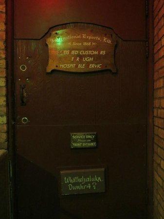 Safe House : The entrance?