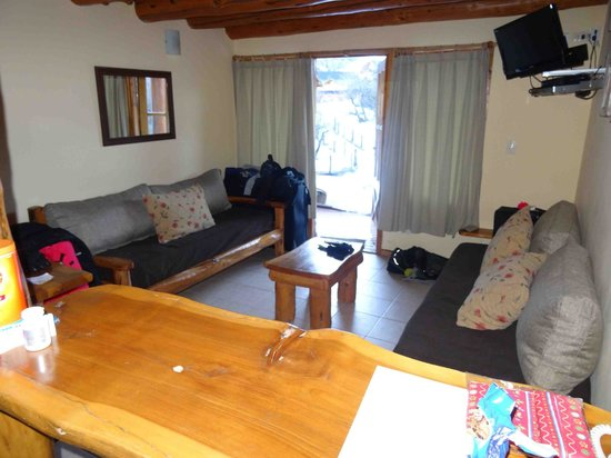 Los Nires Lodge Cerro Catedral: Sala del Studio lodge