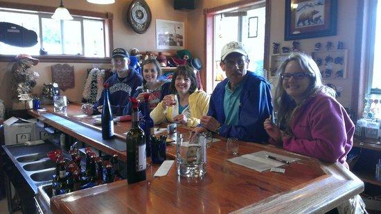 Bear Creek Winery: Wine tasting