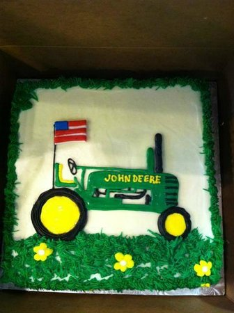 John Deere Tractor Birthday Cake Picture of Betty Cakes Cake Shop