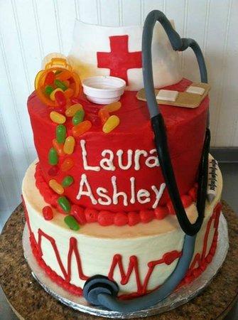 Betty Cakes Cake Shop Nurse Birthday