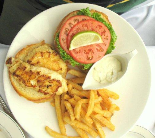 Bon Appetit: Grilled grouper sandwich