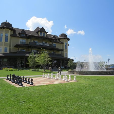 The Springs Resort & Spa : The front of the new addition.