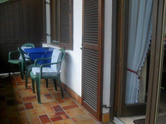 Gastehaus Brigitte: Private balcony