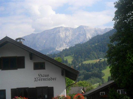 Gastehaus Brigitte: Mountain views from room