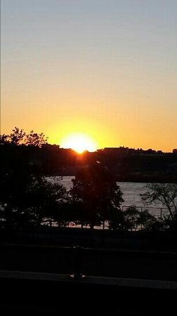 Riverside Park: sunset