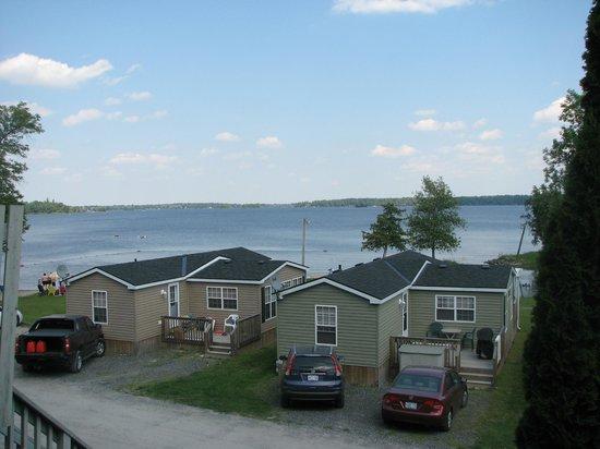 McCreary's Beach Resort: View from condo
