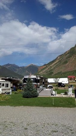 Silver Summit RV Park and Jeep Rentals: View from our front door