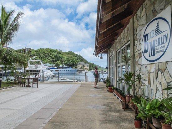 Palau Royal Resort: Walk to the Dock