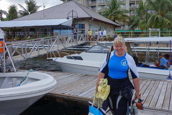Palau Royal Resort: Ready for Scuba!