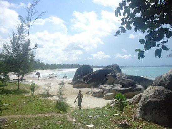 Matras Beach with rocks