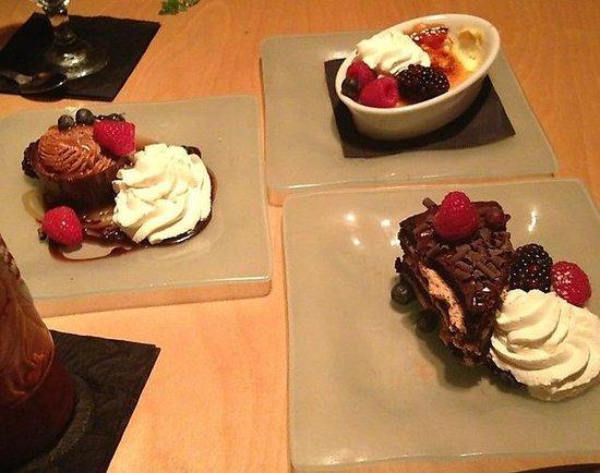 J Coco: Dessert