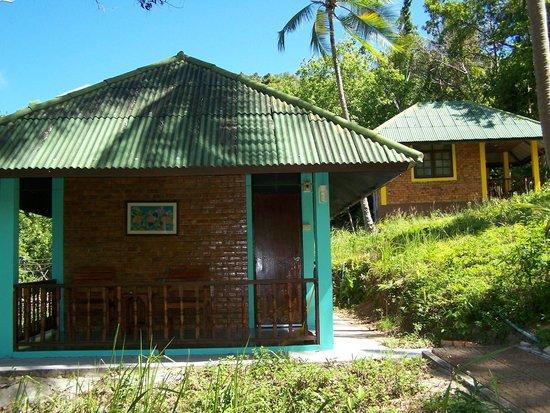 Phangan Natural Resort: bungalows a/c