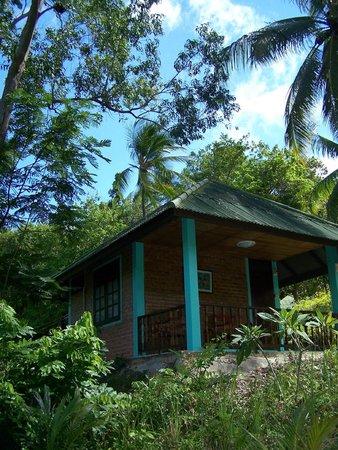 Phangan Natural Resort: bungalow a/c