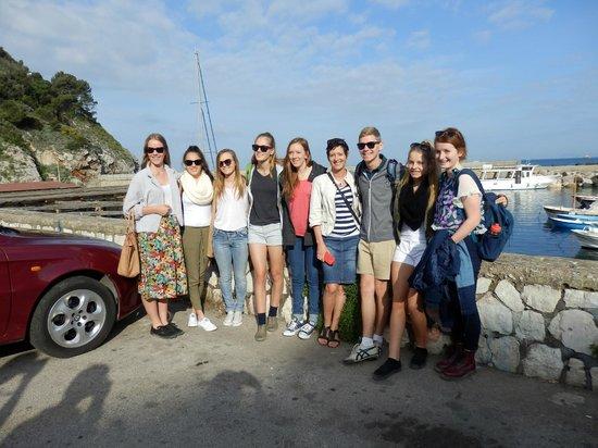 Grand Hotel Hermitage & Villa Romita: Setting off to Capri at the piccolo marina
