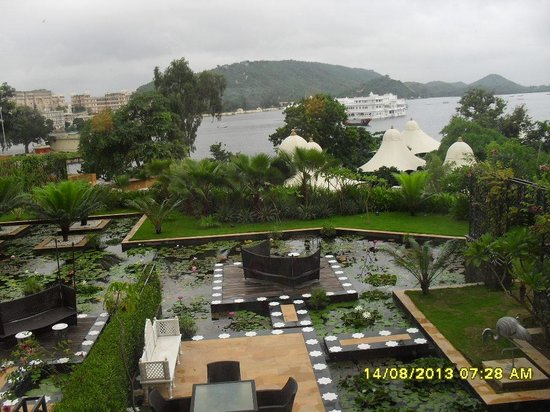 The Leela Palace Udaipur: view from the room