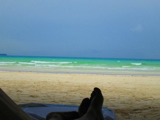 Sea Wind Boracay Island: View from the Beach
