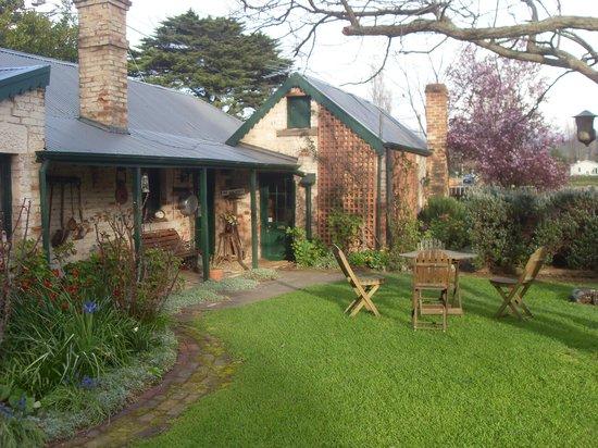 Laurel Cottages: Rear of Cottage
