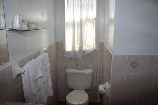 Travellers Motel: Bathroom