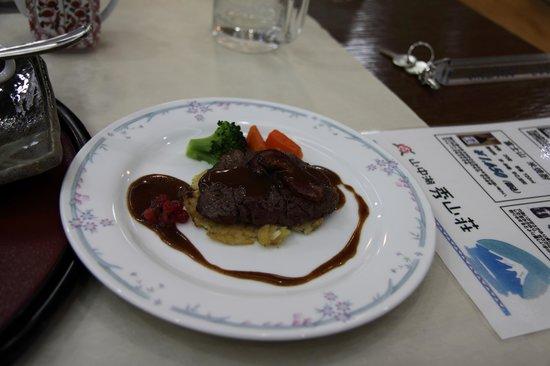 Yamanakako Shuzanso: おいしい料理2