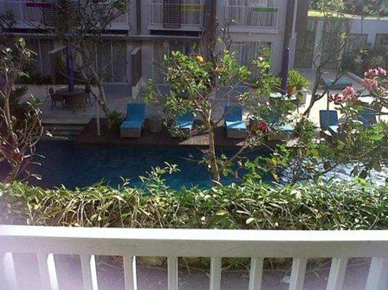 Ibis Styles Bali Benoa: pemandangan balkon