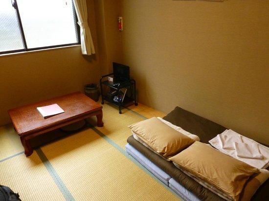 Kyoto Hana Hostel: Comfy room!!!