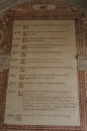 Museo de las Culturas de Oaxaca: La historia de Santo Domingo