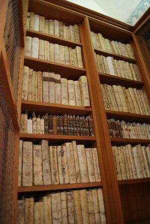 Museo de las Culturas de Oaxaca: La colección de su biblioteca, normalmente protegida por rejas