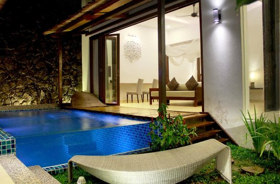 La Villa Langkawi: Night view