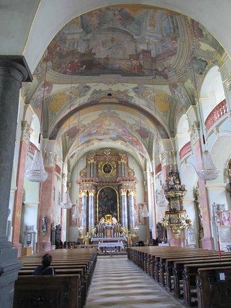 Stadtpfarrkirche St. Egid: Church of St Egyd, Klangenfurt.