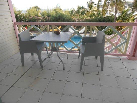 Sol Hotel : terrase