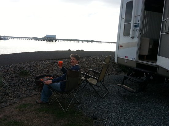 Harborview Inn & RV Park: perfect.