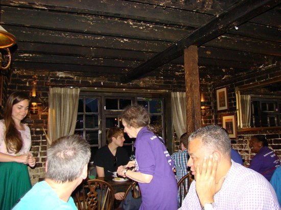 The Ringlestone Inn: Centuries of History in the Ceiling