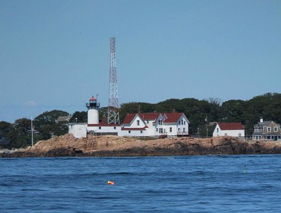 7 Seas Whale Watch: Eastern Point Light House you pass by