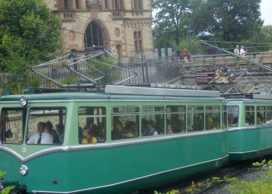 Drachenfelsbahn, August 2013