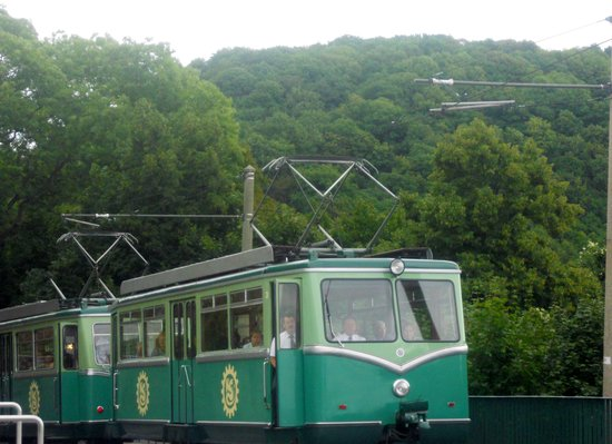 Drachenfelsbahn, August 2013, seen from different angle
