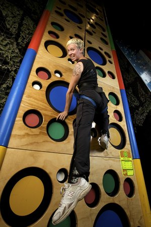 The Roxx Climbing Centre: 'Big Cheese' in Clip 'N Climb