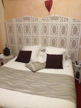 Hotel le Mirage : la chambre ou étais