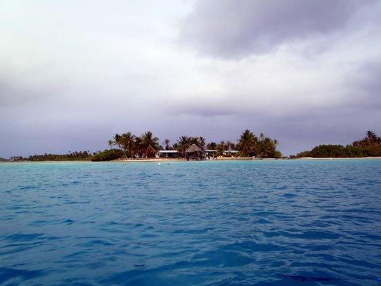 Nanihi Paradise: Vue du lagon