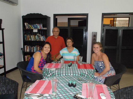 Community Residence Siem Reap: meals in restaurant