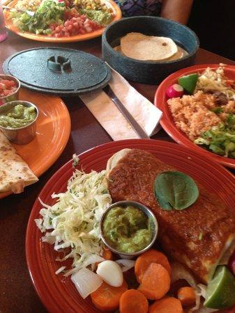 Viva Taqueria & Cantina: Vegan burrito