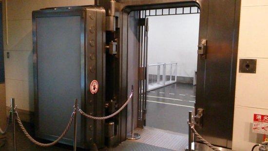 Otaru Museum, Bank of Japan: 大金庫の入り口です