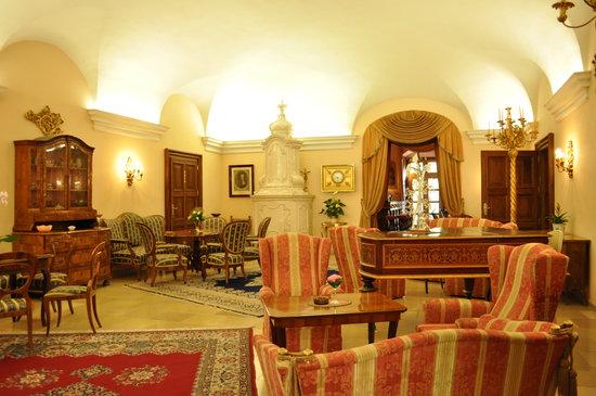 Hotel Schloss Dürnstein: ロビー