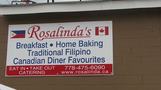 Rosalinda's: In vernon