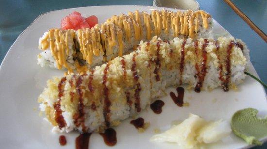 Nagano Sushi Restaurant: Crunchy Combo--- the best!!