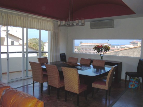 Andales on the Bay: Dining Room with beautiful view from Penthouse 7